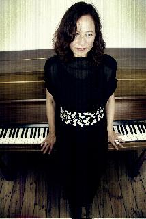 Rebecca T with piano
