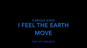 I Feel the Earth Move title